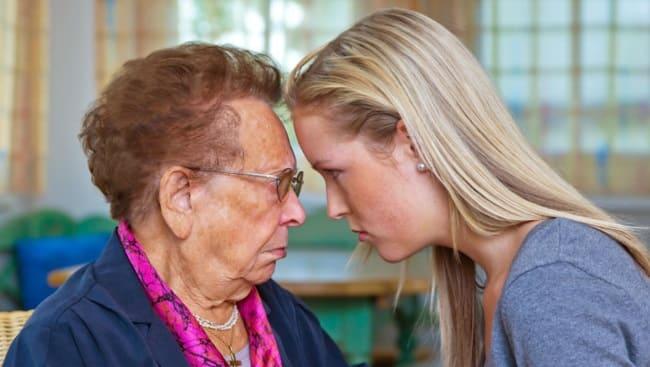 ссора с бабушкой