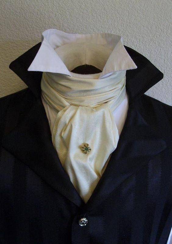 Особенности ношения разных видов галстуков